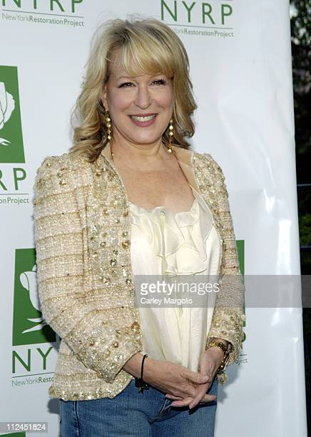 Bette Midler during Bette Midler's New York Restoration Project's 5th Annual Spring Picnic at Highbridge Park in New York City New York United States