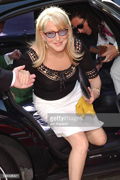 Bette Midler during 'Stepford Wives' World Premiere Arrivals at Mann's Bruin Theater in Westwood California United States