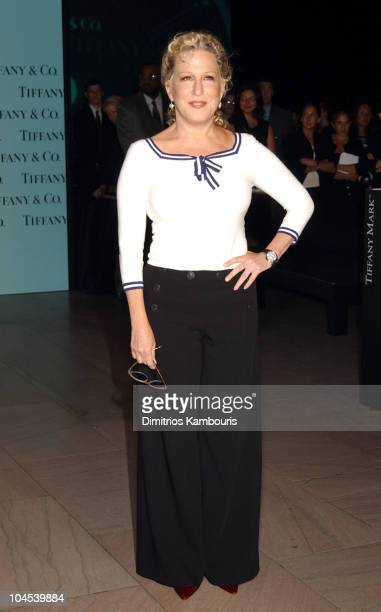 Bette Midler during Tiffany & Co. Honors Bette Midler, Marcia Gay Harden, Candace Bushnell, Dan Marino and Ed Schlossberg to Celebrate the Launch of...