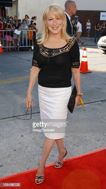 Bette Midler during World Premiere of 'The Stepford Wives' at Mann Bruin Theatre in Westwood California United States