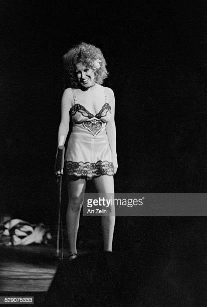 Bette Midler in performance circa 1970 New York