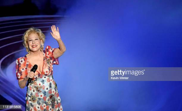 Bette Midler performs onstage during the 91st Annual Academy Awards at Dolby Theatre on February 24 2019 in Hollywood California
