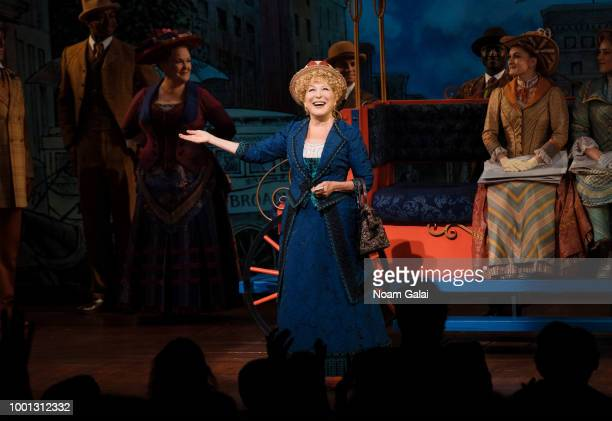 Bette Midler returns to her Tony Awardwinning role in 'Hello Dolly' on Broadway on July 17 2018 in New York City