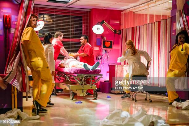 'Better Angels' Angus and Mario treat a patient who is a selfproclaimed psychic and envisions the staff singing and dancing seeing beauty amid the...