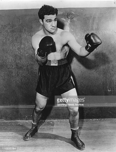 Better known as ROCKY MARCIANO , American boxer, b. Brockton, Mass. Failing to become a professional baseball player, Marciano turned to boxing and...