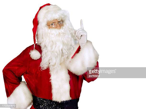better watch out - naughty santa stock photos and pictures