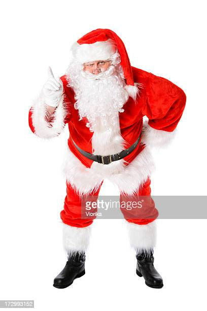 better watch out!!! - naughty santa stock photos and pictures