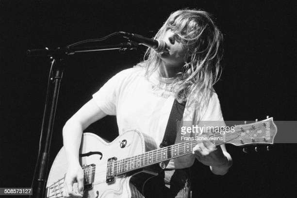 Bettie Serveert performs at the Noorderslag in the Oosterpoort in Groningen, Netherlands on 9th January 1993.
