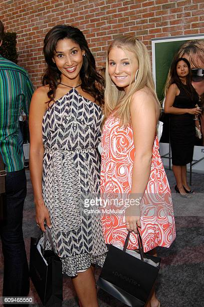 Bettina Bush and Ashley Rose Orr attend Davante Opens Rodeo Drive Optical Boutique with Preview of Robert Cavalli Eyewear at Davante on June 7 2007...