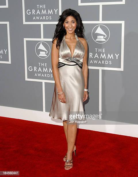 Bettina Bush during The 49th Annual GRAMMY Awards Arrivals at Staples Center in Los Angeles California United States