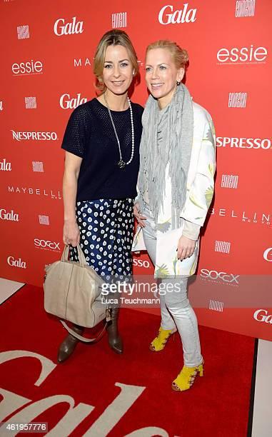 Bettina Cramer and Tamara von Nayhauss attend the GALA Fashion Brunch at Ellington Hotel on January 22 2015 in Berlin Germany