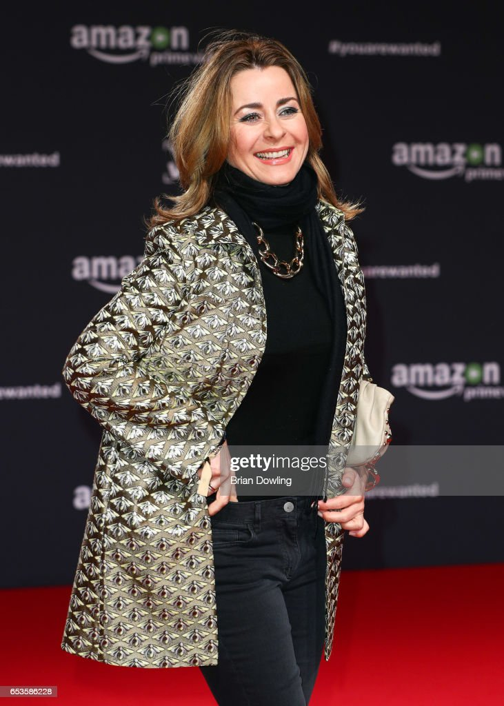 Bettina Cramer arrives at Amazon Prime Video's premiere of the series 'You are Wanted' at CineStar on March 15, 2017 in Berlin, Germany.