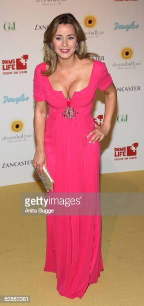 Bettina Cramer attends the Dreamball2008 charity gala in the Martin-Gropius Building on September 18, 2008 in Berlin, Germany.