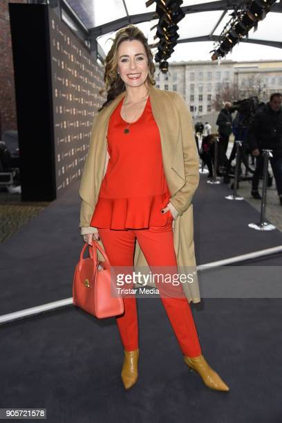 Bettina Cramer attends the Ewa Herzog show during the MBFW Berlin January 2018 at ewerk on January 16 2018 in Berlin Germany