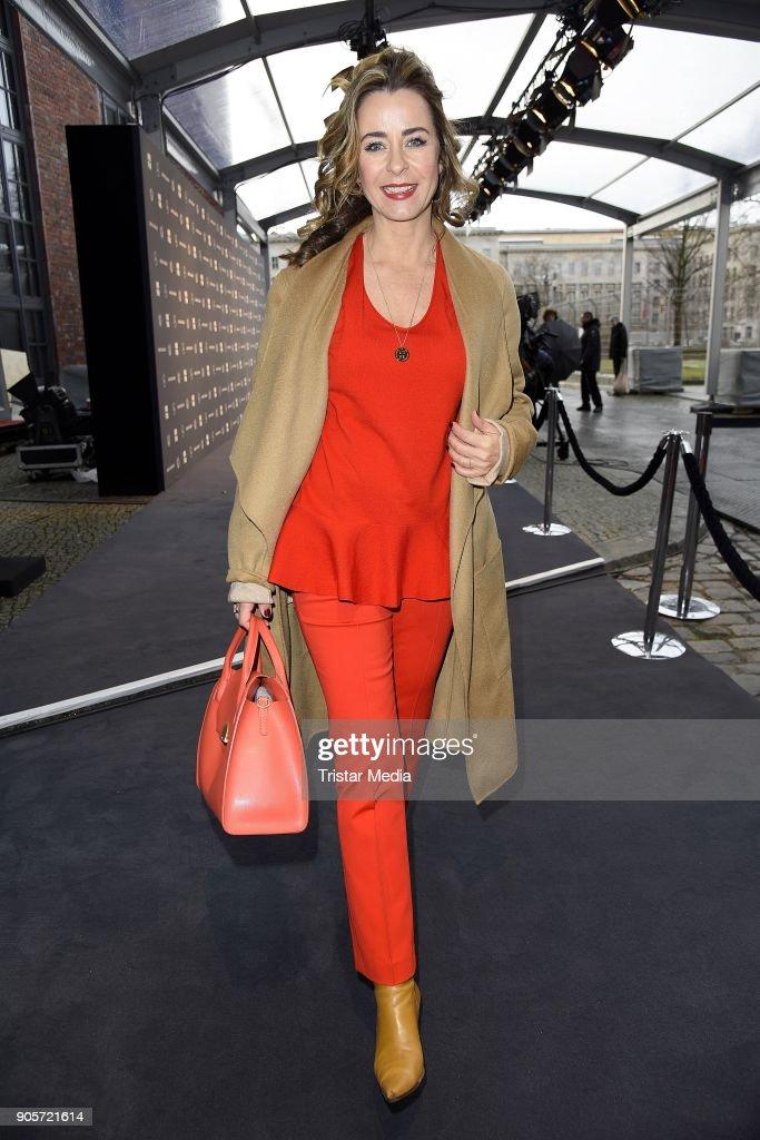 Ewa Herzog Arrivals - MBFW Berlin January 2018