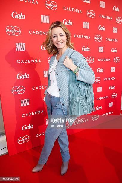 Bettina Cramer attends the 'Gala' fashion brunch during the MercedesBenz Fashion Week Berlin Autumn/Winter 2016 at Ellington Hotel on January 22 2016...