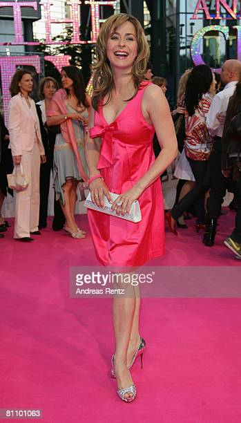 Bettina Cramer attends the German premiere of 'Sex And The City' at the cinestar on May 15 2008 in Berlin Germany