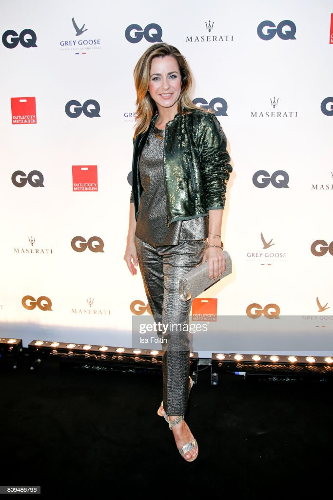 Bettina Cramer attends the GQ Mension Style Party 2017 at Austernbank on July 5, 2017 in Berlin, Germany.