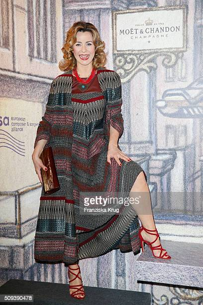 Bettina Cramer attends the Moet Chandon Grand Scores 2016 at Hotel De Rome on February 6 2016 in Berlin Germany