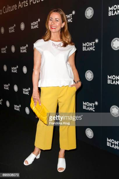Bettina Cramer attends the Montblanc De La Culture Arts Patronage Award 2017 at Humboldt Carre on June 13 2017 in Berlin Germany