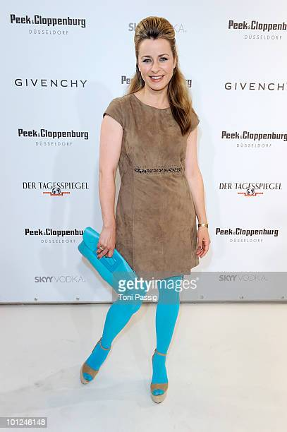 Bettina Cramer attends the 'Sex And The City 2' movie night at the Peek Cloppenburg flagship store on May 28 2010 in Berlin Germany
