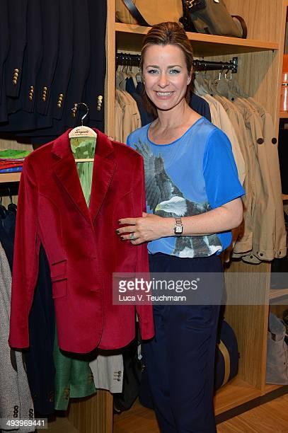 Bettina Cramer attends Torquato Shop Opening In Berlin on May 26 2014 in Berlin Germany