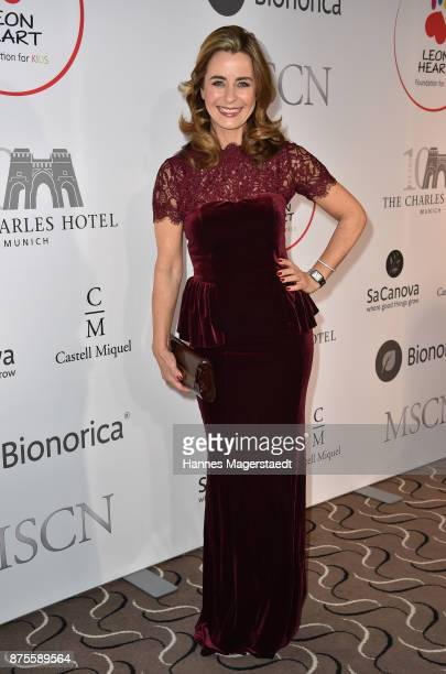 Bettina Cramer during the Leon Heart Foundation charity dinner at Charles hotel on November 17 2017 in Munich Germany