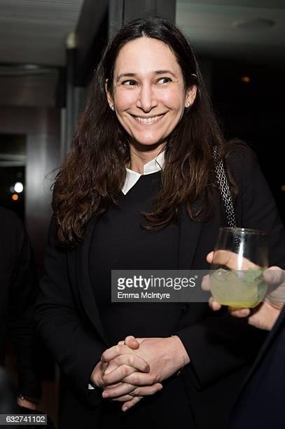 Bettina Korek attends 'Art Los Angeles Contemporary host committee members and collectors Joel Lubin and wife Marija Karan host ALAC 2017 exhibitors...