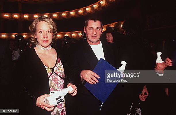 Bettina Kupfer Heinz Hoenig Verleihung Bayerischer Fernsehpreis