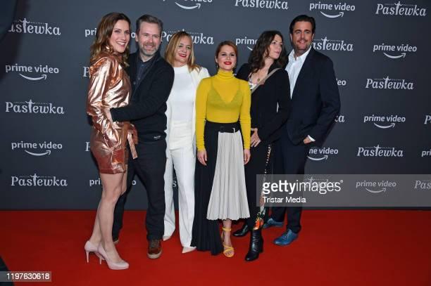 Bettina Lamprecht Matthias Matschke, Sonsee Neu, Cristina do Rego, Sabine Vitua and Bastian Pastewka attend the premiere of the 10th season...