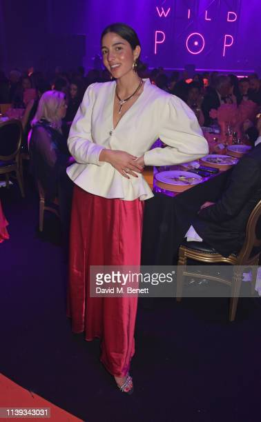 Bettina Looney attends the Bvlgari WILD POP Gala Dinner at The Roundhouse on April 25 2019 in London England