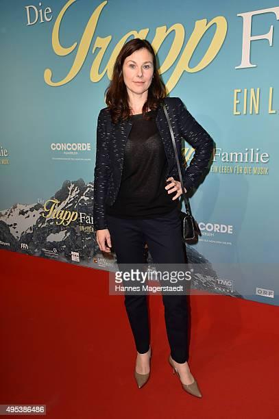 Bettina Mittendorfer attends 'Die Trapp Familie Ein Leben fuer die Musik' German Premiere at Gloria Palast on November 2 2015 in Munich Germany