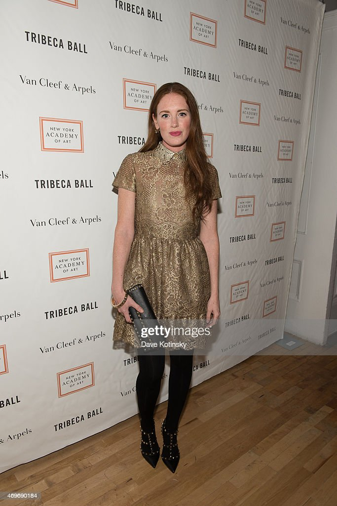 Bettina Prentice attends the 2015 Tribeca Ball at New York Academy of Art on April 13, 2015 in New York City.