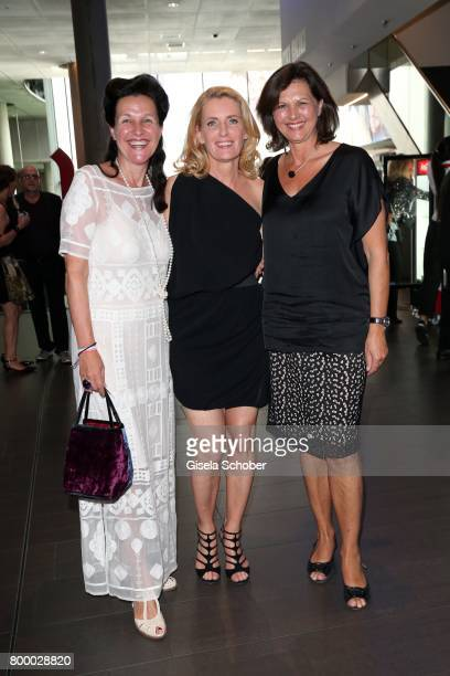 Bettina Reitz and Dr Maria Furtwaengler and Ilse Aigner during the opening night of the Munich Film Festival 2017 at Mathaeser Filmpalast on June 22...