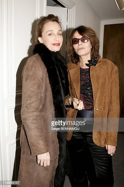 Bettina Rheims Exhibition At The Jerome De Noirmont Gallery In Paris - On March 16Th, 2006 - In Paris, France - Here, Kristin Scott Thomas And...