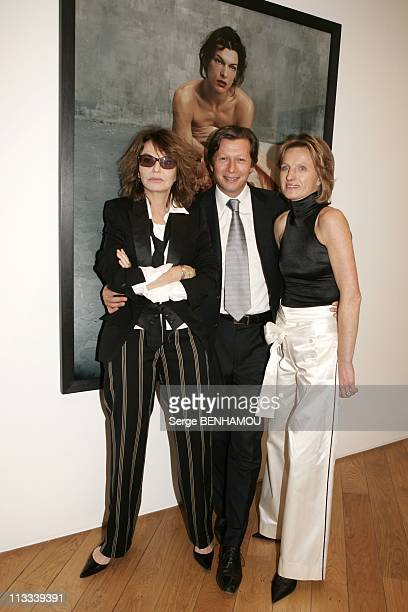 Bettina Rheims Exhibition At The Jerome De Noirmont Gallery In Paris - On March 16Th, 2006 - In Paris, France - Here, Bettina Rheims Jerome And...