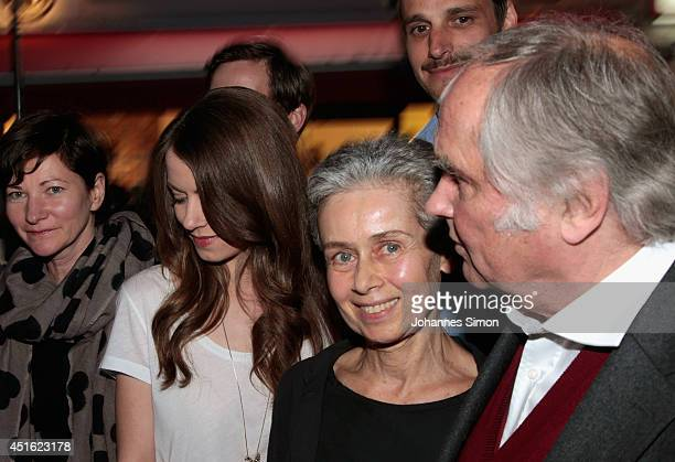 Bettina Ricklefs Alice Dwyer Max von Thun Laura Waco and Michael Verhoeven attend the 'Let's Go' premiere as part of Filmfest Muenchen 2014 at Rio...