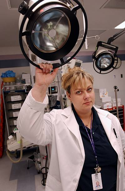 Bettina Stopford, an emergency room nurse of Denver Health Medical ...