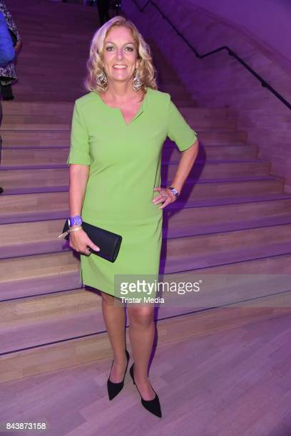 Bettina Tietjen attends the Deutscher Radiopreis at Elbphilharmonie on September 7 2017 in Hamburg Germany