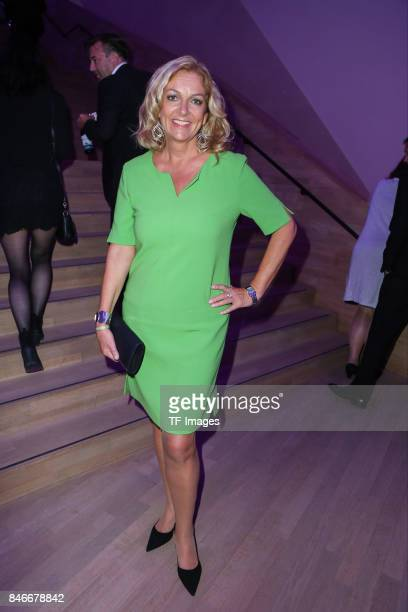 Bettina Tietjen attends the Deutscher Radiopreis at Elbphilharmonie on September 7 2017 in Hamburg Germany n