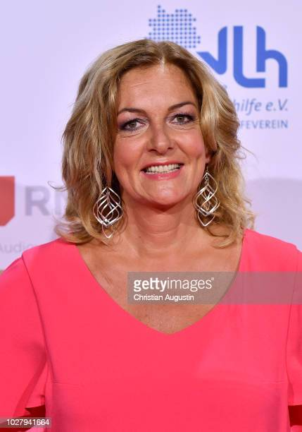 Bettina Tietjen attends the Deutscher Radiopreis at Schuppen 52 on September 6 2018 in Hamburg Germany