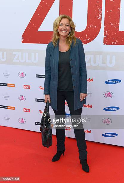 Bettina Tietjen attends the German premiere of the film 'Zulu' at Cinemaxx on May 5 2014 in Hamburg Germany