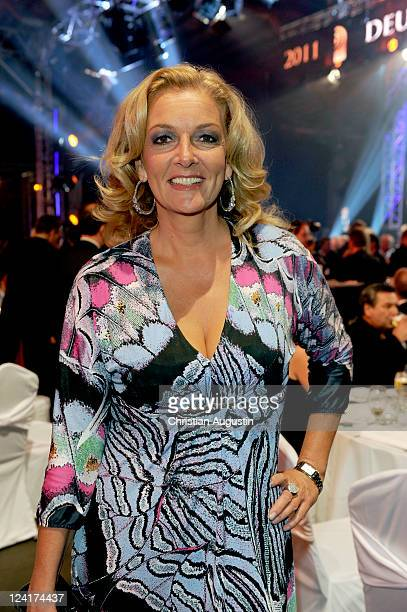 Bettina Tietjen attends the German Radio Award 2011 on September 8 2011 in Hamburg Germany