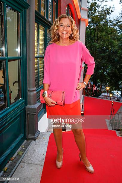 Bettina Tietjen attends the 'Nacht der Medien' on August 29 2014 in Hamburg Germany