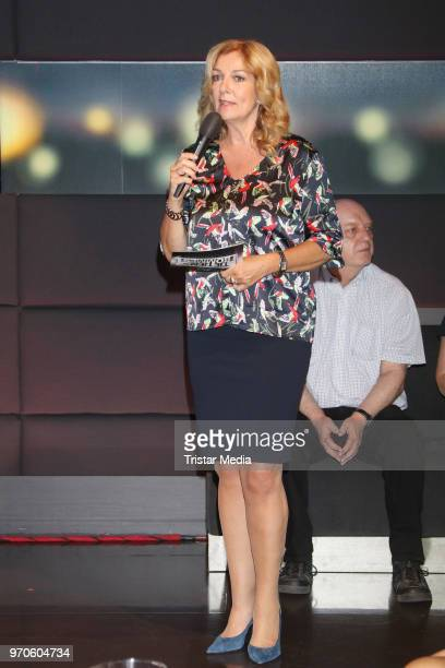 Bettina Tietjen during the 'Tietjen und Bommes' photo call on June 8 2018 in Hamburg Germany