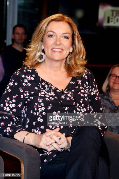 Bettina Tietjen during the 'Tietjen und Bommes' TV show on March 22 2019 in Hanover Germany