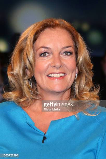 Bettina Tietjen during the 'Tietjen und Bommes' TV show on September 15 2018 in Hanover Germany