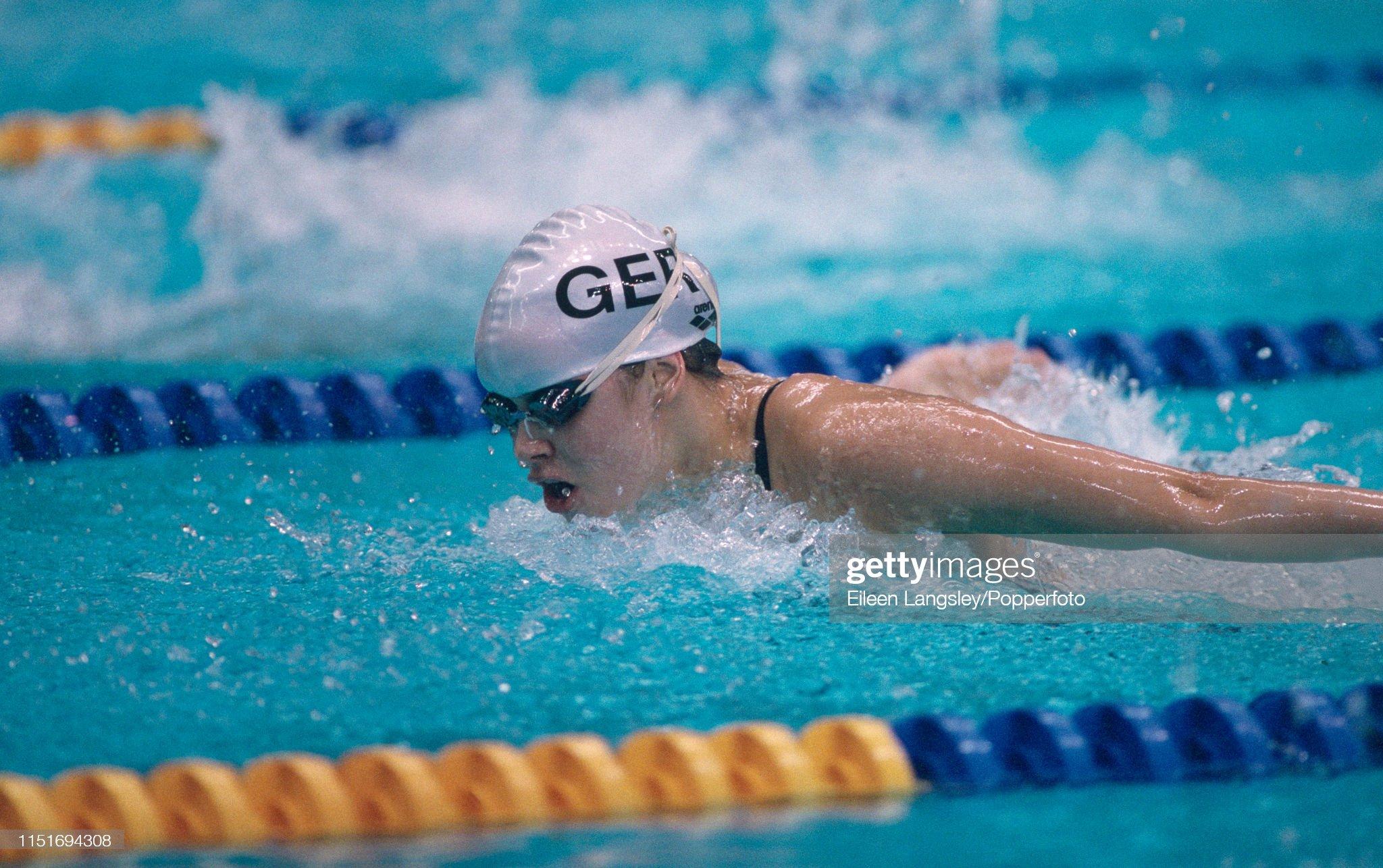 Bettina Ustrowski - 1993 European Aquatics Championships : Fotografía de noticias