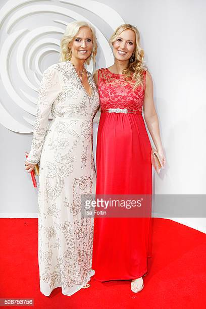 Bettina von Schimmelmann and Angela FingerErben attend the Rosenball 2016 on April 30 2016 in Berlin Germany