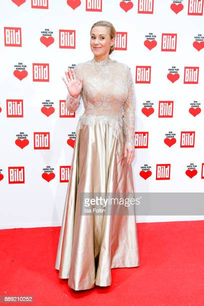 Bettina Wulff attends the 'Ein Herz fuer Kinder Gala' at Studio Berlin Adlershof on December 9 2017 in Berlin Germany
